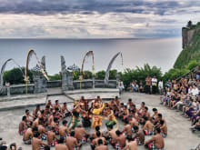 Kecak Dance & Seafood Dinner : Uluwatu Sunset Tour