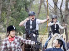 Japanese Traditional Mounted Archery Yabusame