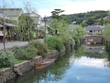 Explore on foot the beautiful canal city of Kurashiki