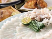 Reservation for Fugu Restaurant Fukuji in Tokyo