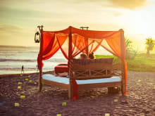 Aphrodisiac Picnic in Bed - Sunset Romance on the Beachfront