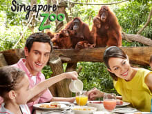 10% OFF Singapore Zoo Instant E-Ticket With Jungle Breakfast