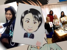 Attend a manga drawing lesson and get your manga portrait!