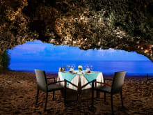 Romantic Private Beach Cave Dinner in Nusa Dua Bali