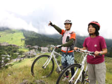 Panoramic Downhill Cycling Tour of Mt. Daisen in Tottori