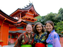 Kimono Experience and Cultural Tour in Fujinomiya Township