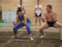 50% OFF Sumo Training Experience in Tokyo