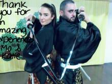 Dress up like a samurai & enjoy samurai dance, Tokyo