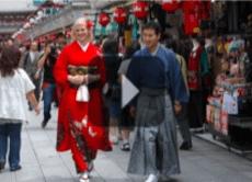 Walk the Streets of Asakusa in a Kimono