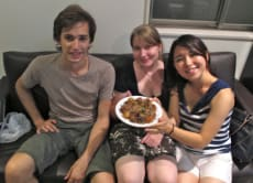 Takoyaki Making with Tokyo University Students!