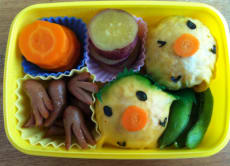 Learn How to Make Japanese Kid's Lunch Box :Kyaraben