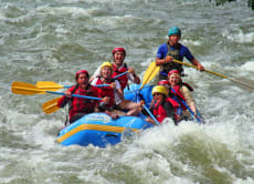 Go White Water River Rafting in Rishikesh