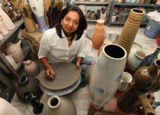 インドの陶芸体験