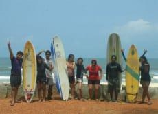 インドの西海岸でゆったりサーフィン合宿3日間