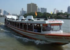 Ride a Rocket Boat in the canals of Bangkok
