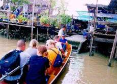 Explore the ancient canals of Bangkok