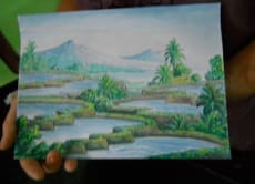 Learn Traditional Balinese Painting