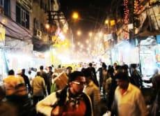 Night Walk in Chandni Chowk