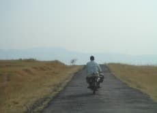 Escape from Mumbai by Motorbike
