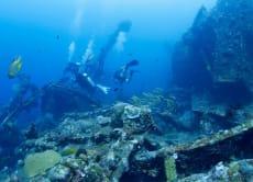 フリーダイビング講習&沈没船の米軍リバティー号へダイブ(バリ)