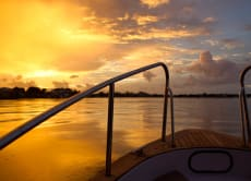 Enjoy the sunset in Ho Chi Minh on a private cruise