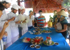 Build team spirit with a cooking class in Cu Chi