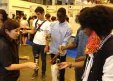 """Kendama"" Lesson with a Kendama Girl in Tokyo!"