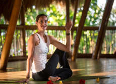 6泊7日間ヨガを通して瞑想·健康をして現実世界からのリフレッシュする