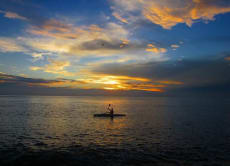 Explore the East Coast of Bali (Amed) by Canoe or Sea Kayak