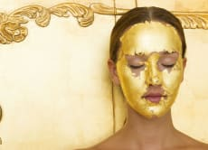 Exclusive 24k Gold Leaf Facial Treatment