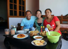 Cook and Eat Delicious Lunch in a Balinese House