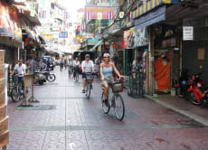 Cycle Historic Bangkok (3-hour bicycle tour)