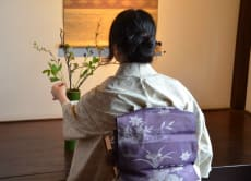 Enjoy a Tea Ceremony and Ikebana in the Mountains