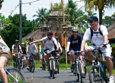 Go Cycling around the Scenic Carangsari Village
