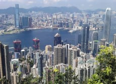 Walk from the Peak to HK's South Side for Spectacular Views