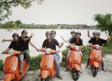Feel the Charm of Hoi An on Asia's 1st Electric Scooter Tour