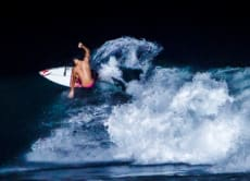 Enjoy Spectacular Night Surfing at Keramas Beach