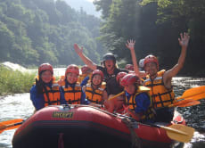 River Rafting in Tama River