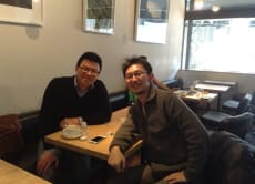 Lunch with the Voyagin Founder and Staff