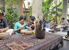 Wood Carving Lesson in Central Ubud