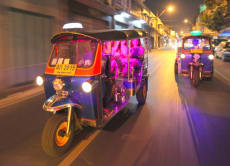 Bangkok Night Lights Tuk Tuk Tour