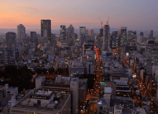 Enjoy an Awesome Night View of Osaka City
