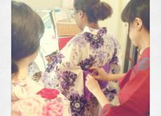 Yukata shopping experience in Tokyo