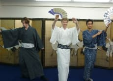 Discover Japan with Kimono and Japanese traditional dances