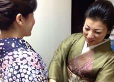 Walk Around in a Kimono in Ginza, Tokyo