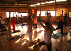 Yoga Class and Eco Stay in Canggu Bali