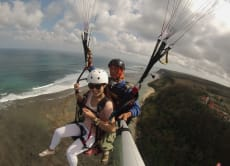 Go Paragliding along Bali's South Coast