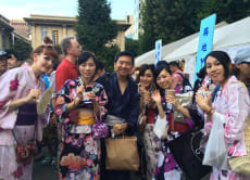 Experience Bon Festival Dance and Wearing a Yukata in Tokyo