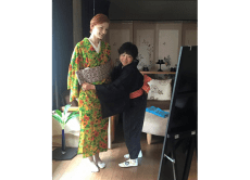 Rent or buy a kimono, wearing help at your hotel