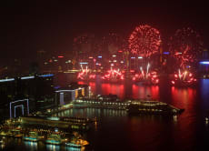 Hong Kong Chinese New Year Fireworks Cruise 2016